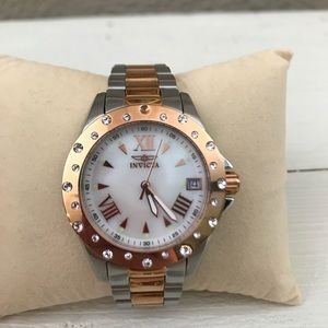 Invicta Angel  Mother of Pearl Watch